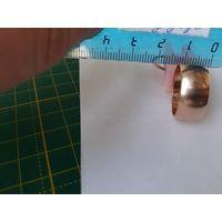 Винтажное кольцо 583 пробы (бочёнок)