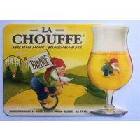 Подставка под пиво La Chouffe /Бельгия/-2