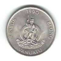 Вануату 50 вату 1990 года. Состояние UNC!