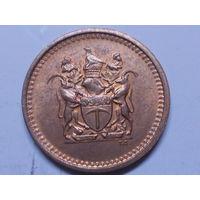 Родезия  1 цент 1977 г.