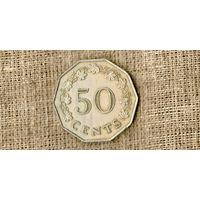 Мальта 50 центов 1972 ///(ON)