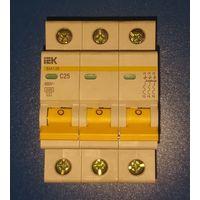 Автоматический выключатель IEK ВА 47-29  С25 4 5кА