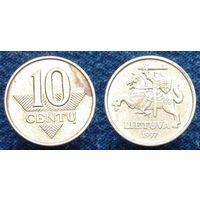 W: Литва 10 центов 1997 (102)