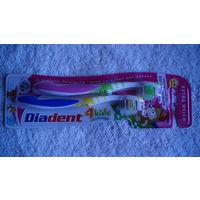 Зубная щётка для детей Diadent 2 шт. No1 распродажа