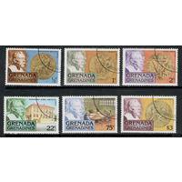 Гренада и Гренадины /1978/ Нобелевские Медали / Michel #GD-GR 260-265 / ПОЛНАЯ Серия 6 Марок