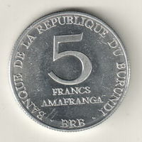 Бурунди 5 франк 1980