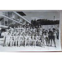"Фото в пионерлагере ""Артек"". 1960-70-е 12х18 см."