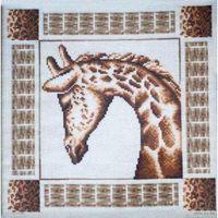 """Набор для вышивки """"Застенчивый жираф"""""""