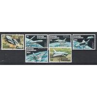 Гренада Гренадины Космический шаттл 1978 год гашеная серия из 6-ти марок