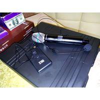 Микрофоны беспроводные TUGA с ручным, головным и клипсой в кофре