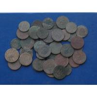 Польско-немецкие монеты лот мра