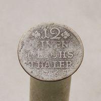 1/12 часть талера 1765 Пруссия Фридрих II Великий