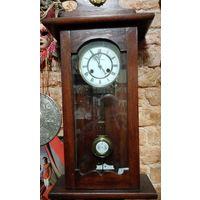 Часы настенные оригинальный механизм начала 20 века.