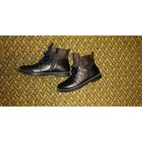 Демисезонные ботинки для девочки 34р-р