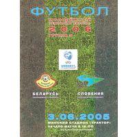 2005 Беларусь U-21 - Словения U-21