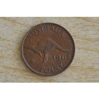 Австралия 1 пенни 1962