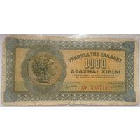 Греция 1000 драхм 1941
