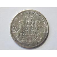 Германия 5 марок 1903 г Гамбург Копия