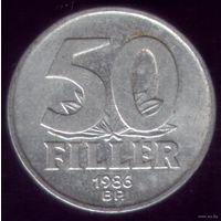 50 Филлер 1986 год Венгрия