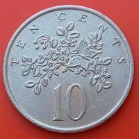 10 центов 1972 ЯМАЙКА- без отметки монетного двора