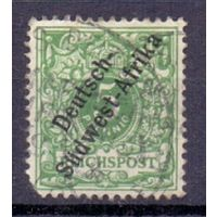 Германия Юго-Западная Африка 5 пф ГАШ 1897 г