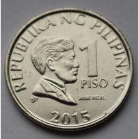 Филиппины 1 писо, 2015 г. (Магнитная).