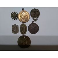 Медаль-жетон временного правительства 1917 год
