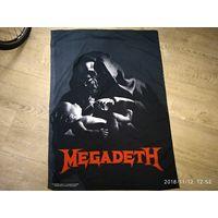Флаг фанатский Megadeth 1995 года