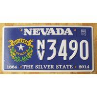 Номер автомобильный США  Nevada