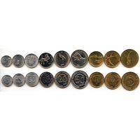 Словения 10, 20, 50 стотинов 1, 2, 5, 10, 20, 50 толаров