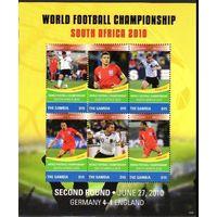 Гамбия Спорт Футбол Чемпионат мира по футболу Южная Африка 2010