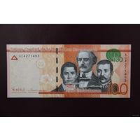 Доминикана 100 песо 2014  UNC