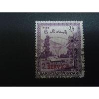 Пакистан 1954 7-я годовщина независимости, надпечатка