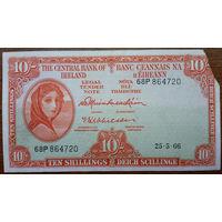 Ирландия, 10 шиллингов 1966 год, Р63