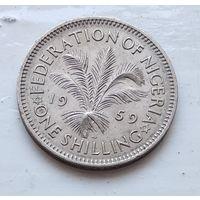 Нигерия 1 шиллинг, 1959 3-11-25