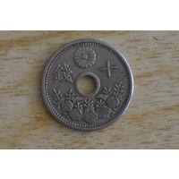 Япония 10 сенов 1925