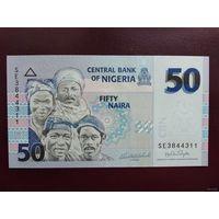 Нигерия 50 найра 2007 (Бумага) UNC