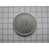 Япония 1 йена 1985г. Showa