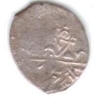 Копейка 1611-1617 Шведская оккупация Новгорода буквы PIH под конем _состояние XF