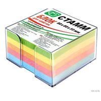Блок для записи непроклеенный,4 цвета