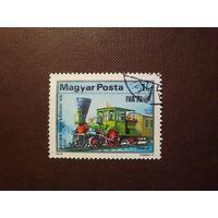 Венгрия 1979 г.Паровоз.