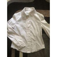 Блузки школьные, рост 116-122