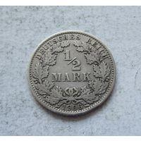 Германия 1/2 марки 1906 А (Берлин) 3