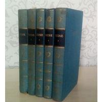 Heine H. – Werke in Funf Banden / Гейне Г. – Сочинения в 5 томах (на немецком языке)