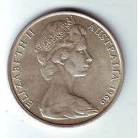 Австралия. 50 центов 1966 г. ( серебро )