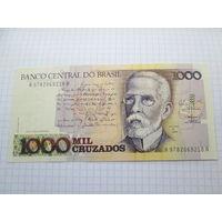 БРАЗИЛИЯ 1000 КРУЗАДО  UNC