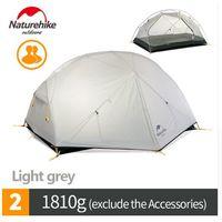Naturehike Mongar 2 Ultralight Легкоходная силиконовая 20D палатка (для двоих 1.810г) Новая.