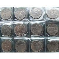 Набор юбилейных монет периода СССР все 64 шт. оригинал.