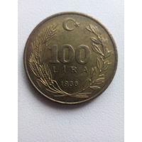 100 Лир 1988 (Турция)