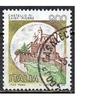 Италия 1980г стандарт  Замок Святого Петра архитектура гаш
